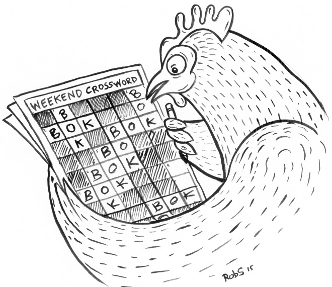 Chicken Crossword