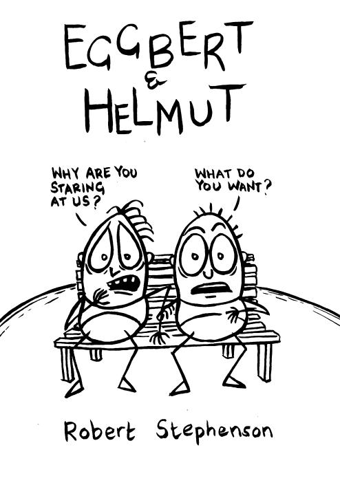 Eggbert & Helmut Cover